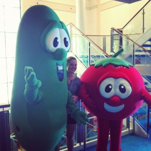 we found Bob n Larry on a cruise ship...