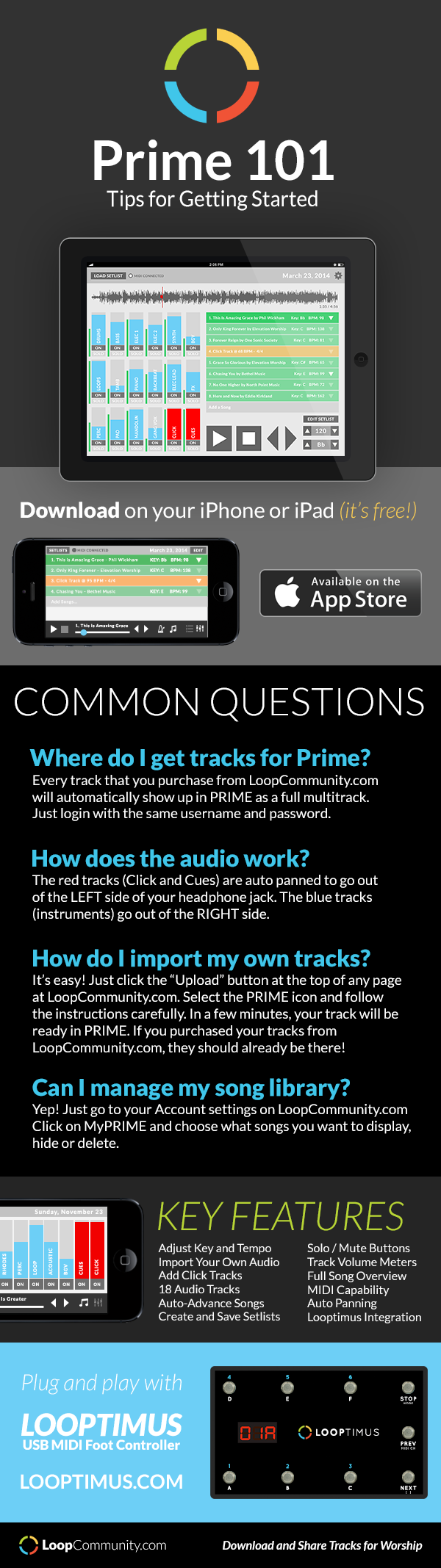 Getting Started with PRIME, our free MultiTracks playback