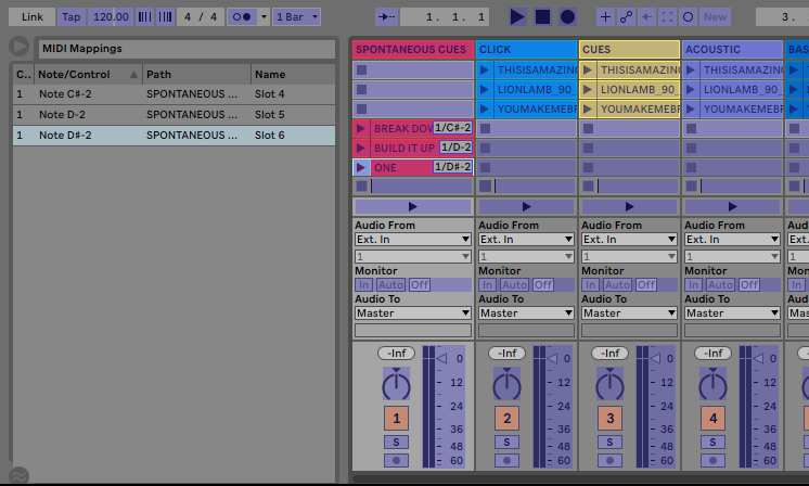 Using Spontaneous Band Cues in Ableton Live - Loop Community Blog